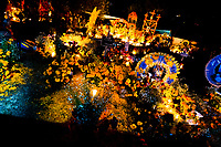 Richly decorated graves, covered by flowers, offerings and candles, are seen during the Day of the Dead celebration at the cemetery in Tzintzuntzan, Michoacán, Mexico, 2 November 2014. Day of the Dead ('Día de Muertos') is a syncretic religious holiday, celebrated throughout Mexico, combining the death veneration rituals of the ancient Aztec culture with the Catholic practice. Based on the belief that the souls of the departed may come back to this world on that day, people gather on the gravesites praying, drinking and playing music, to joyfully remember friends or family members who have died and to support their souls on the spiritual journey.