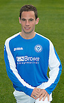 St Johnstone FC Season 2012-13 Photocall.Kevin Moon.Picture by Graeme Hart..Copyright Perthshire Picture Agency.Tel: 01738 623350  Mobile: 07990 594431