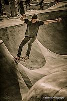 Venice Beach California Skate Park.