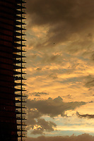 Apartment buildings at Melbourne's Southbank with storm clouds.<br /> <br /> Larger JPEG + TIFF images available by contacting use through our contact page at : www.photography4business.com