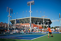 Men during second round match at the US Open 2014 tennis tournament at the USTA Billie Jean King National Center in New York.  08.29.2014. VIEWpress
