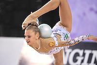 September 22, 2014 - Izmir, Turkey - ALEKSANDRA SOLDATOVA of Russia performs at 2014 World Championships.