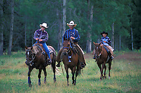 Cowboys at 1/2 Way Ranch, near Kleena Kleene,.Chilcotin Country,.British Columbia, Canada