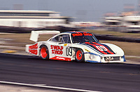 #09 Porsche 936L of Derek Bell, Michael Andretti, John Paul Jr., 57th place, 12 Hours or Sebring, Sebring International Raceway, Sebring, FL, March 19, 1983.  (Photo by Brian Cleary/bcpix.com)