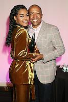 NEW YORK, NY - NOVEMBER 16: Teyana Taylor and Kevin Liles at the Sixth Annual WEEN Awards at ESPACE on November 16, 2016. Credit: Walik Goshorn/MediaPunch