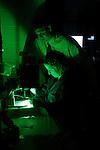 0507-05 Dr. Stark Lab..Students working in Dr. Stark's Lab..Dr. Michael Stark.Rhonda Lassiter..Photo by Jaren Wilkey/BYU..Copyright BYU Photo 2005.All Rights Reserved.photo@byu.edu   (801)422-7322