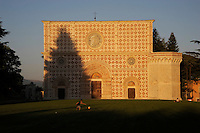 Basilica di Santa Maria di Collemaggio. L'Aquila..