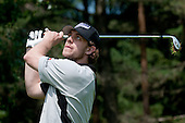 Anze Kopitar, ice hockey player for LA Kings, at Anze's Eleven and SKB Charity Golf Tournament, on June 11, 2011 in Golf court Bled, Slovenia. (Photo by Matic Klansek Velej / Sportida)