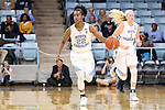 20 November 2016: North Carolina's Paris Kea (22). The University of North Carolina Tar Heels hosted the Bucknell University Bisons at Carmichael Arena in Chapel Hill, North Carolina in a 2016-17 NCAA Women's Basketball game. UNC won the game 65-50.