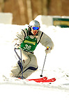 15 January 2005 - Lake Placid, New York, USA - Simon Bates representing the United Kingdom, competes in the FIS World Cup Men's Moguls Freestyle ski competition, ranking 41st for the day, at Whiteface Mountain, Lake Placid, NY. ..Mandatory Credit: Ed Wolfstein Photo.