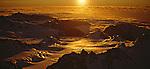 Aerial view of Upper Franz Josef Glacier. Westland National Park. New Zealand.