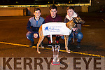 Knockout Glory,  Horse and Jockey Oaks Winner Clonmel 2017. Pictured at at Kingdom Greyhound Stadium on Friday with Stephen Reidy, Tralee, Liam McAuliffe, Athea and Kieran Ahern, Moyvane