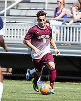 The College of Charleston Cougars played the  Georgia Southern Eagles in The Manchester Cup on April 5, 2014.  The Cougars won 2-0.  Jake Currie (10)