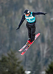 16 January 2009: Alexei Grishin from Belarus performs aerial acrobatics during the FIS Freestyle World Cup warm-ups at the Olympic Ski Jumping Facility in Lake Placid, NY, USA. Mandatory Photo Credit: Ed Wolfstein Photo. Contact: Ed Wolfstein, Burlington, Vermont, USA. Telephone 802-864-8334. e-mail: ed@wolfstein.net
