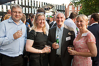 From left are Iain Humber of Nat West, Rachel Bennett of Gateley, Andy Durbin of Smith Cooper and Dawn Wesselby-Hughes of Nat West
