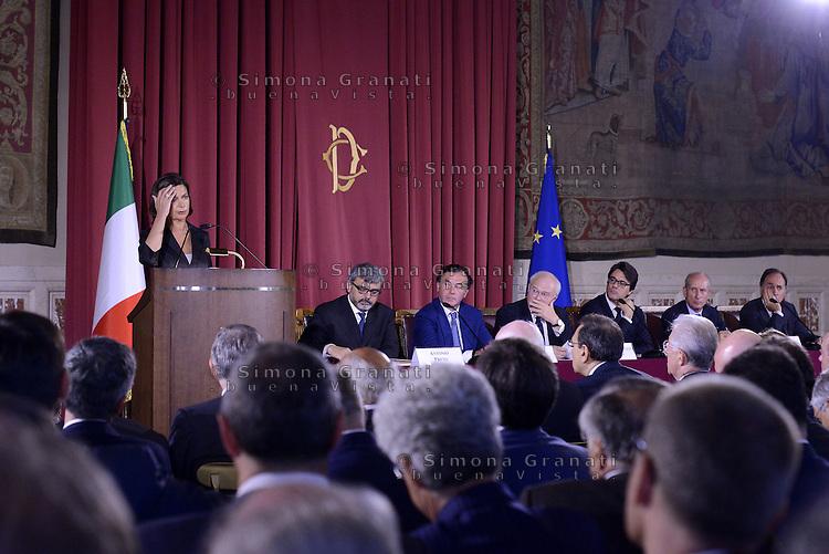 Roma, 7 Luglio 2015<br /> Camera dei Deputati<br /> Laura Boldrini<br /> Relazione annuale dell'AGCOM<br /> Autorit&agrave; per le garanzie nelle telecomunicazioni.
