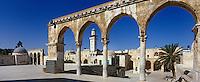 Asie/Israël/Judée/Jérusalem: Vieille ville - Quartier Musulman - Esplanade du temple- Haram el-Cherif - le Minbar Bourbhane El-Din construit pour servir de tribune à l'Iman