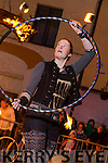 The launch of The Falcon Circus Display in the Square Tralee on Saturday night at of the Circus Festival weekend