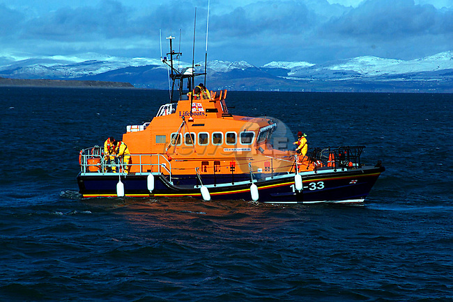The New Lifeboat in Clogherhead...Pic Tony Campbell/Newsfile