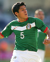 Ricardo Osorio in action for Mexico. Mexico defeated Iran 3-1 during a World Cup Group D match at Franken-Stadion, Nuremberg, Germany on Sunday June 11, 2006.