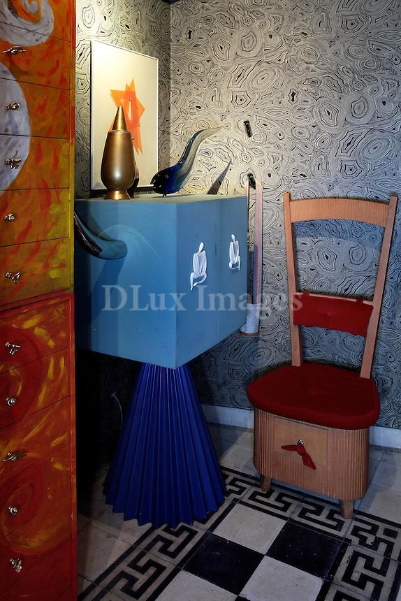 art deco cabinets