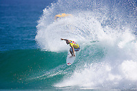 JAKE PATERSON(AUS)  in action during the elimination Round 2 of the Quiksilver Pro Gold Coast  today March 4,2007 in clean 3 to 4 foot (0.9-1.2 metre) surf at Snapper Rocks,  Gold Coast, Queensland, Australia. PATERSON defeated former world champion ANDY IRONS (HAW) to advance to round three. Photo: Joli