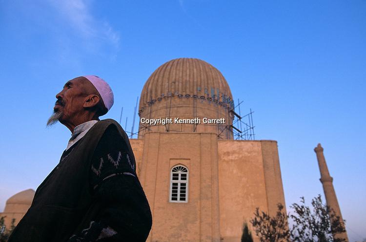 Gowhar Shad, minarets and mausoleum, 15th century, under renovation, UNESCO, Afghanistan.