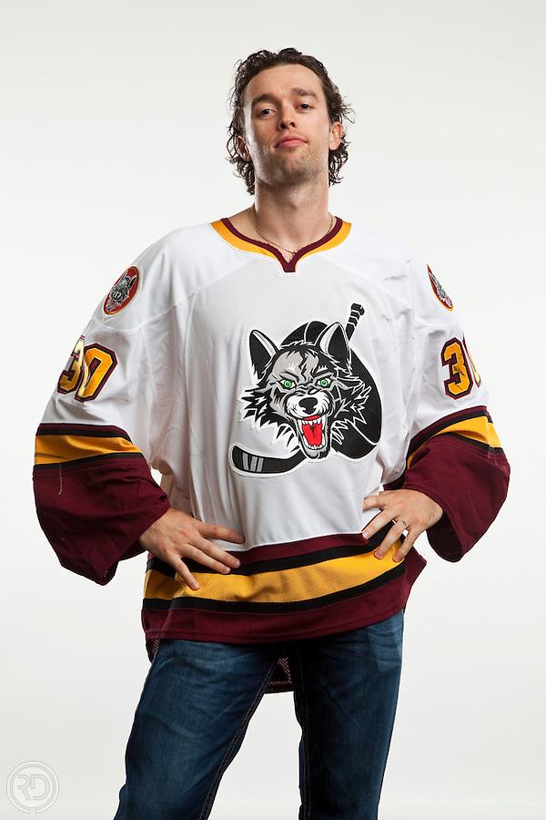 Drew MacIntyre of the Chicago Wolves<br /> <br /> Mandatory Photo Credit: Ross Dettman/Chicago Wolves