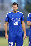 27 September 2016: Duke's Jared Golestani. The Duke University Blue Devils hosted the Georgia State University Panthers at Koskinen Stadium in Durham, North Carolina in a 2016 NCAA Division I Men's Soccer match. Georgia State won the game 2-1 in two overtimes.