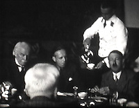 Lloyd George's meeting with Hitler revealed.