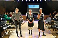 Melanie Child by Mel Child, New Zealand Eco Fashion Exposed Buyers &amp; Media Showcase at Notre Dame Performing Arts Centre, Lower Hutt, New Zealand on Thursday 24 July 2014. <br /> Photo by Masanori Udagawa. <br /> www.photowellington.photoshelter.com.