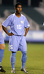 UNC's Corey Ashe on Wednesday, November 9th, 2005 at SAS Stadium in Cary, North Carolina. The University of North Carolina Tarheels defeated the North Carolina State University Wolfpack 1-0 during their Atlantic Coast Conference Tournament Quarterfinal game.