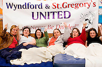 05/04/09 Wyndford and St Gregory's protest