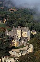 Europe/France/Aquitaine/24/Dordogne/Vallée de la Dordogne/Périgord/Périgord Noir/Env de Sainte-Mondane: Le Château de Fenelon (XVème) - Maison natale de l'archevêque de Cambrai