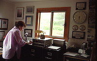 'Hello all mariners, hello all mariners, this is WBH-Two-Nine Kodiak.'.-- Peggy Dyson.Prior to the advent of faxes, email and cell phones, mariners throughout the North Pacific listened up when they heard WBH-29 Kodiak -- aka Peggy Dyson -- on the radio..In fact, they depended on it. Twice a day, every day for 25 years, Dyson broadcast the marine weather and personal messages to those at sea from her home in Kodiak on her single sideband radio.
