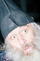 Vermin Supreme - Protest outside Lesser-Known Candidates Debate - Goffstown, NH - 19 Jan 2016