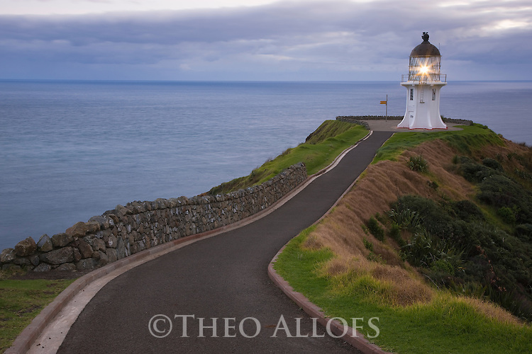 Light House At Cape Reinga Theo Allofs Photography