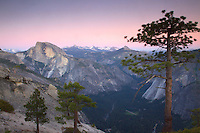 Half Dome at Dusk