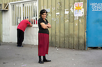 A woman in Tbilisi.