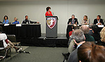 19 January 2008: Women's Professional Soccer held a Town Hall Meeting at the 2008 National Soccer Coaches Association of America's annual convention being held at the Convention Center in Baltimore, Maryland.