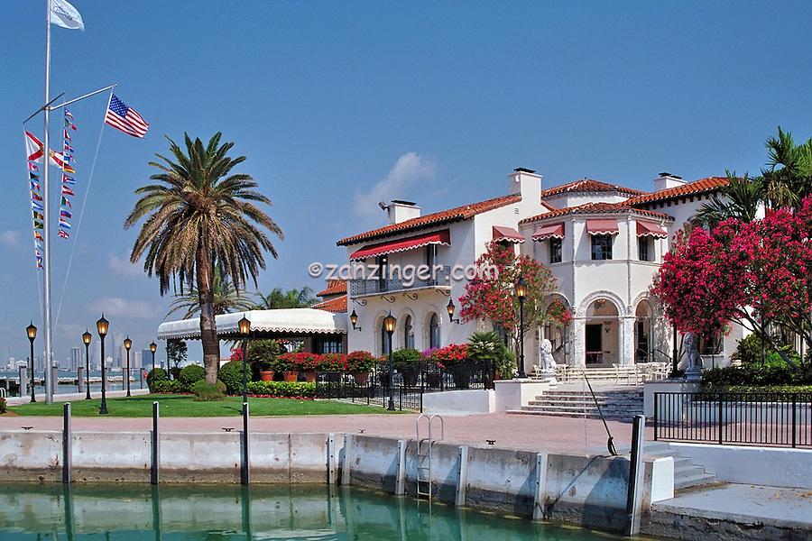 Vanderbilt Mansion, Fisher Island, Florida, Mediterranean-style mansion, Florida's Most Exclusive Private Island ., South Florida