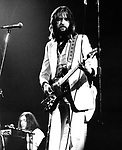 Eric Clapton  1973 and Steve Winwood at The Rainbow Theatre<br /> &copy; Chris Walter