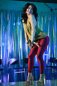 London, UK. 10.06.2016. the Donkey Show opens at Proud Camden. Picture shows: Natalie Chua (Disco Girl). Photograph © Jane Hobson.