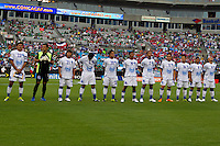 El Salvador being introduced prior to the Concacaf Gold Cup, the final score of this match was 1-1