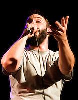 Clutch performing at Hifi Bar, Melbourne, 13 December 2008