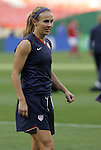 10 May 2008: Heather Mitts (USA). The United States Women's National Team defeated the Canada Women's National Team 6-0 at RFK Stadium in Washington, DC in a women's international friendly soccer match.