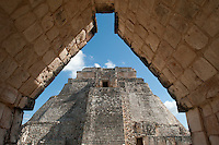 The Mayan city of Uxmal, Yucatan, Mexico