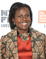 NEW YORK, NY - SEPTEMBER 30: Deborah Roberts attends the 54th New York Film Festival opening night gala presentation and '13th' world premiere at Alice Tully Hall at Lincoln Center on September 30, 2016 in New York City.  Photo Credit: John Palmer/MediaPunch