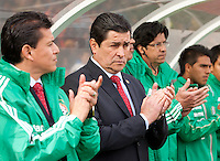 San Francisco, California - Saturday March 17, 2012: Luis Fernando Tena prior to Mexico vs Senegal U23 final Olympic qualifying tuneup. Mexico defeated Senegal 2-1