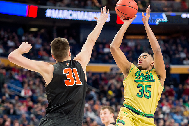 March 16, 2017; 2017 NCAA Tournament Round 1. (Photo by Matt Cashore/University of Notre Dame)